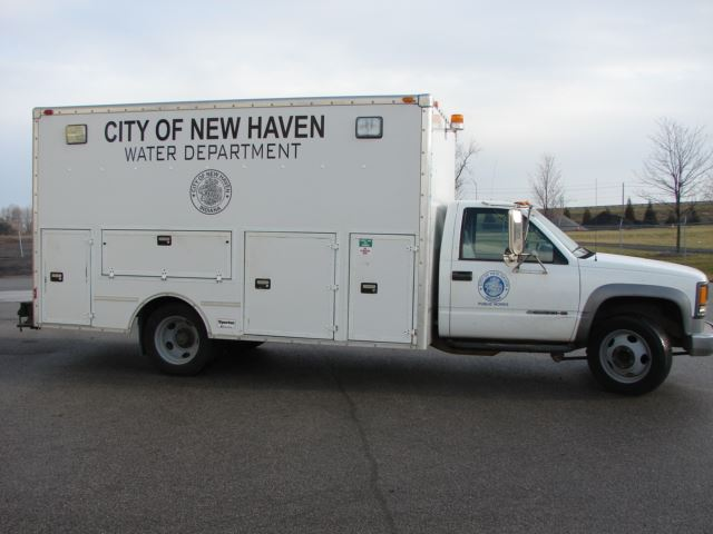 City of New Haven Water Department Vehicle